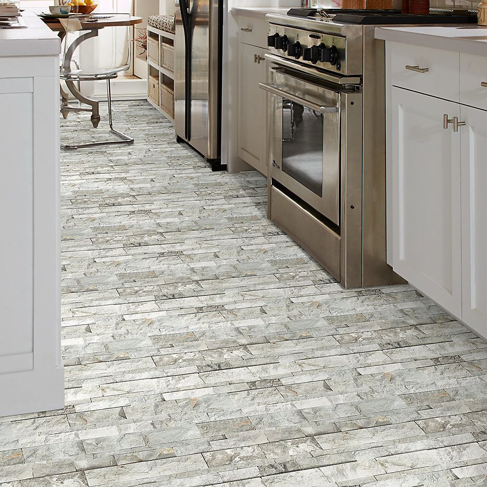 Shaw Floors Ceramic Solutions Firestone Split Face Ritz Gray 00510_195TS