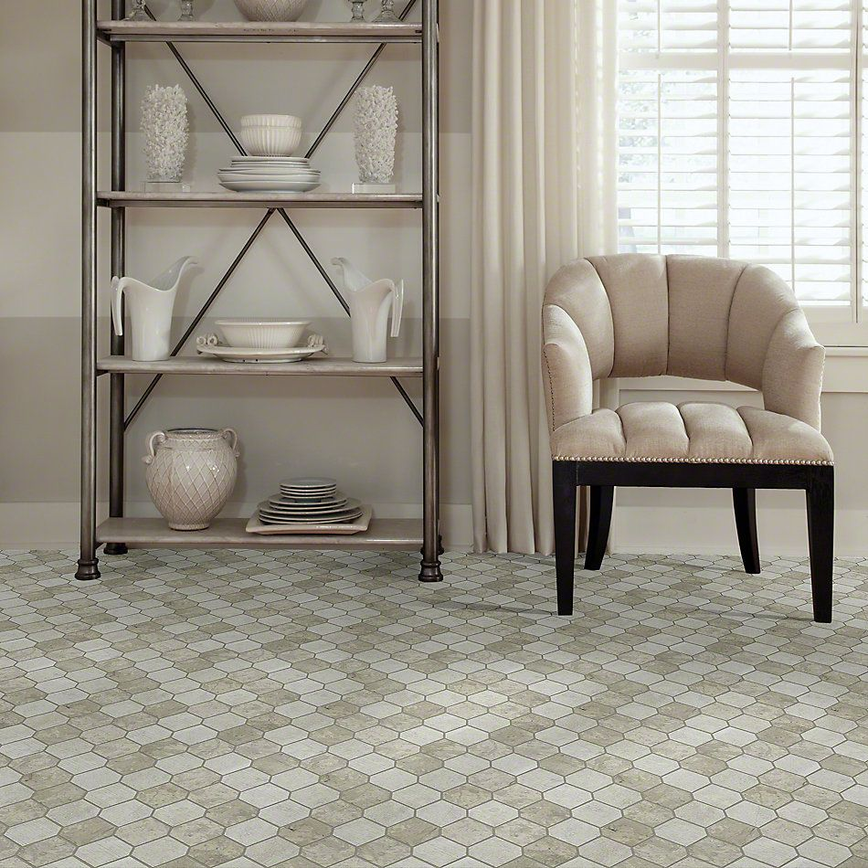 Shaw Floors Ceramic Solutions Boca Stretch Hex Thala Gray 00510_CS26X