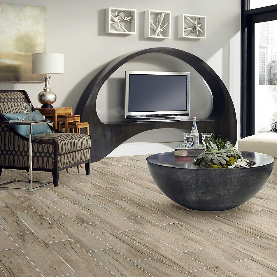 Shaw Floors Ceramic Solutions Voyage 8×32 Taupe 00510_CS32P