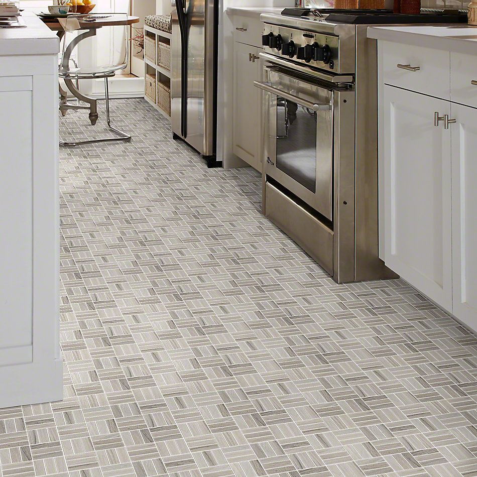 Shaw Floors Ceramic Solutions Voyage Mosaic Taupe 00510_CS59Q
