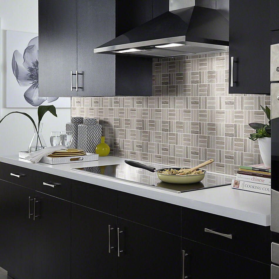 Shaw Floors Ceramic Solutions Voyage Mosaic Taupe 00510_CS59Q