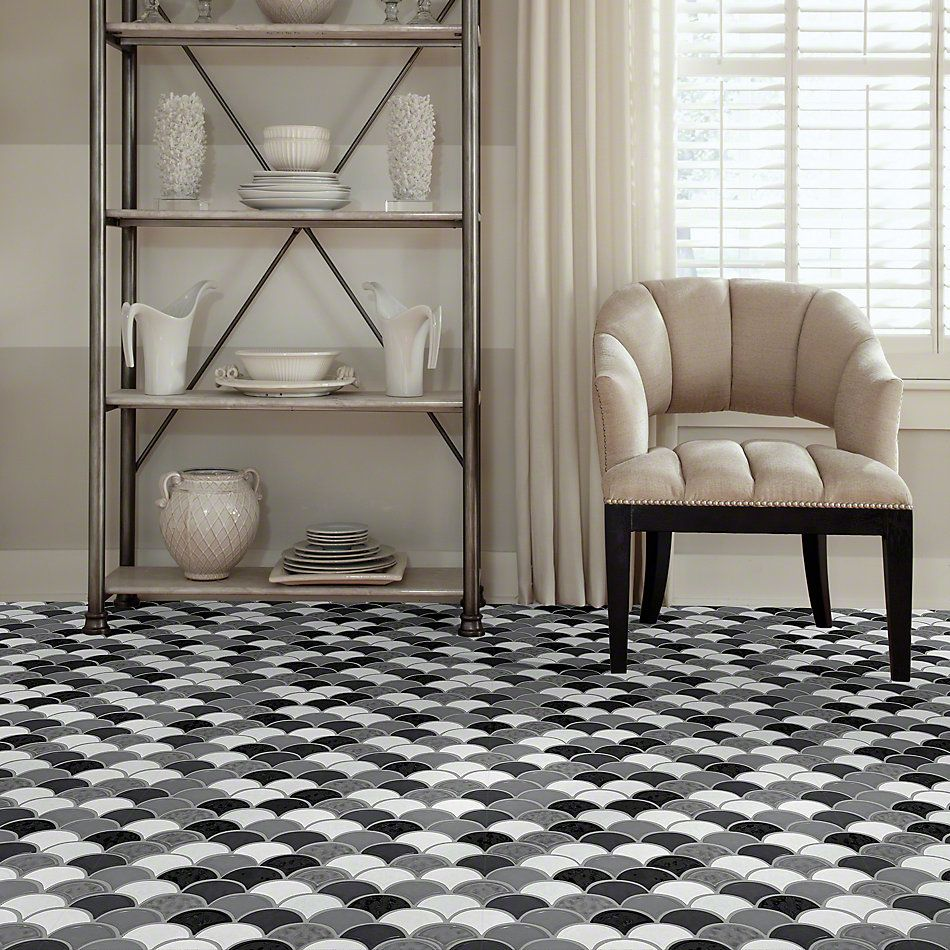 Shaw Floors Ceramic Solutions Geoscapes Fan Cool Blend 00510_CS99V