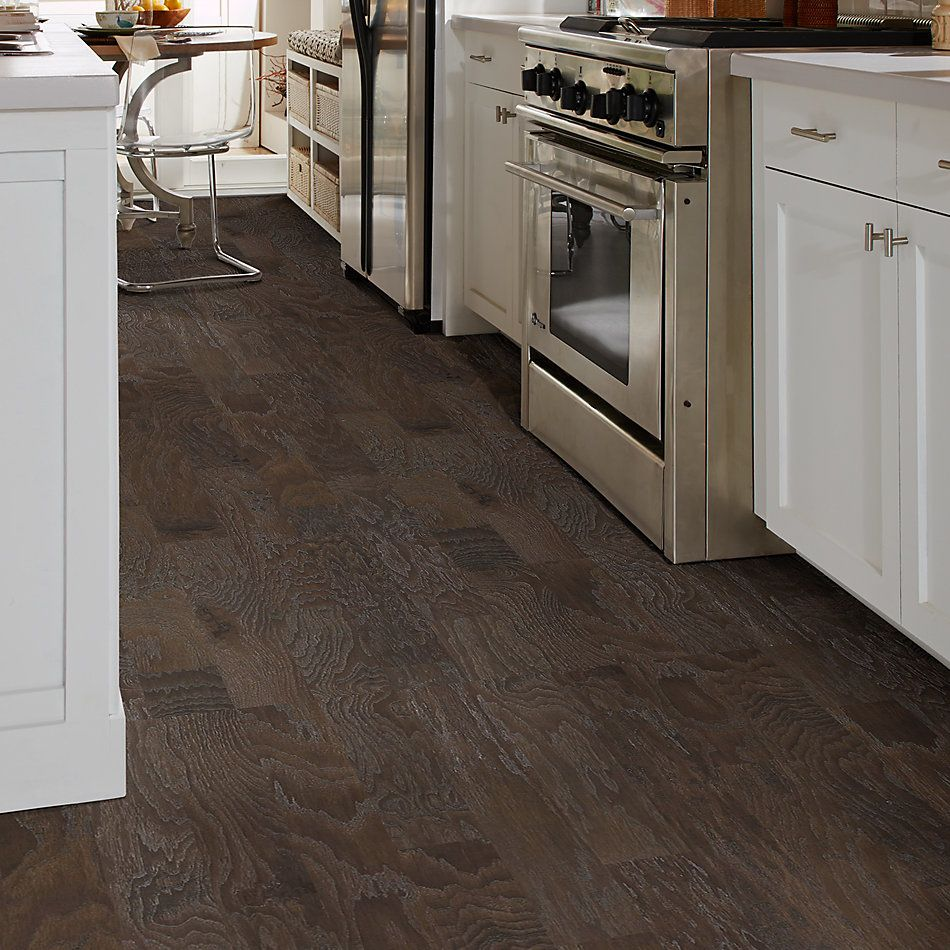 Shaw Floors Home Fn Gold Hardwood Leesburg 2 – Mixed Stonehenge 00510_HW619