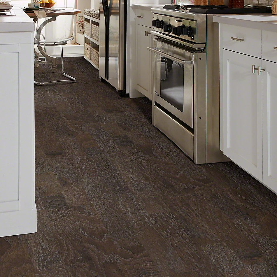 Shaw Floors Shaw Hardwoods Sequoia Hickory 5 Granite 00510_SW539