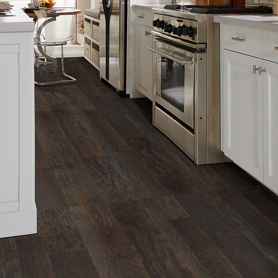 Shaw Floors Shaw Hardwoods Sequoia Hickory Mixed Width Granite 00510_SW546