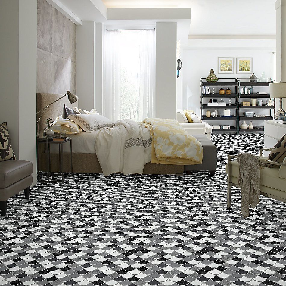 Shaw Floors Home Fn Gold Ceramic Geoscapes Fan Cool Blend 00510_TG86A