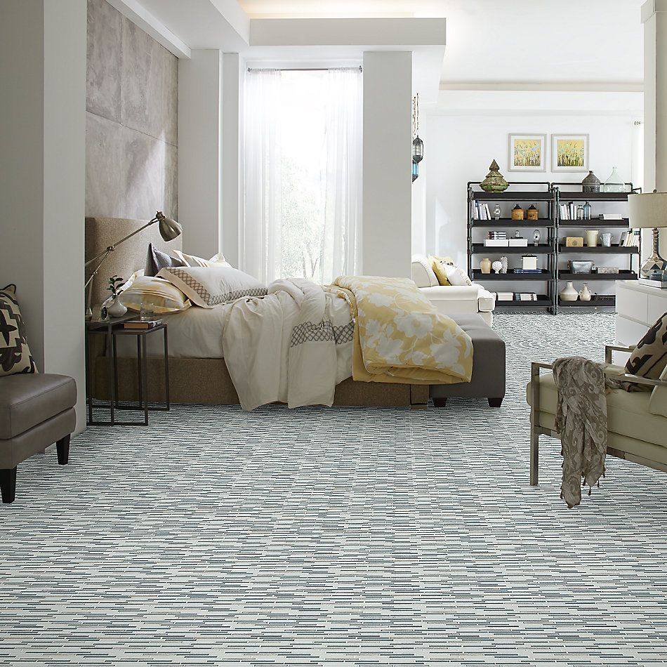 Shaw Floors Home Fn Gold Ceramic Molten Linear Glass Nickel 00510_TGJ83