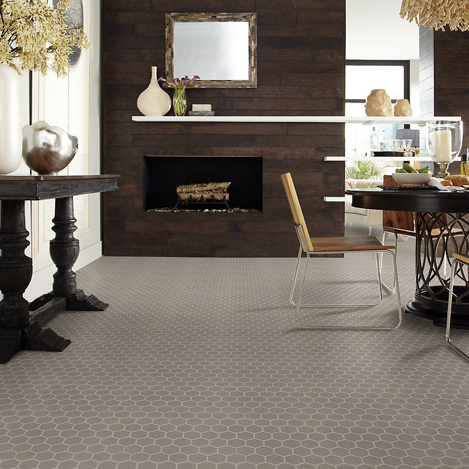 Shaw Floors Ceramic Solutions Coolidge Hex Taupe 00520_240TS