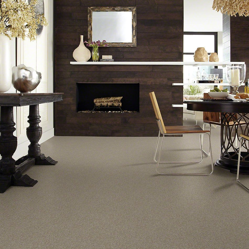 Shaw Floors Foundations Sandy Hollow Classic III 12′ Wood Smoke 00520_E0552