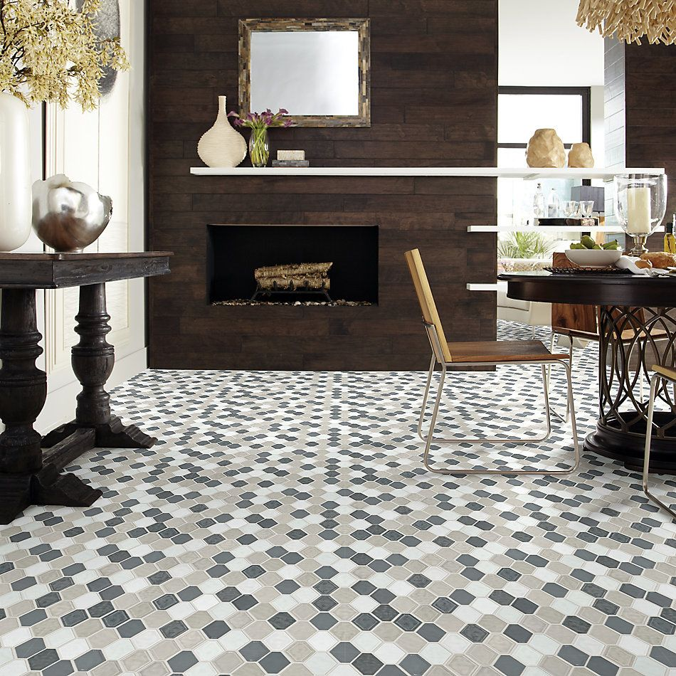 Shaw Floors Home Fn Gold Ceramic Geoscapes Diamond Warm Blend 00520_TGJ79
