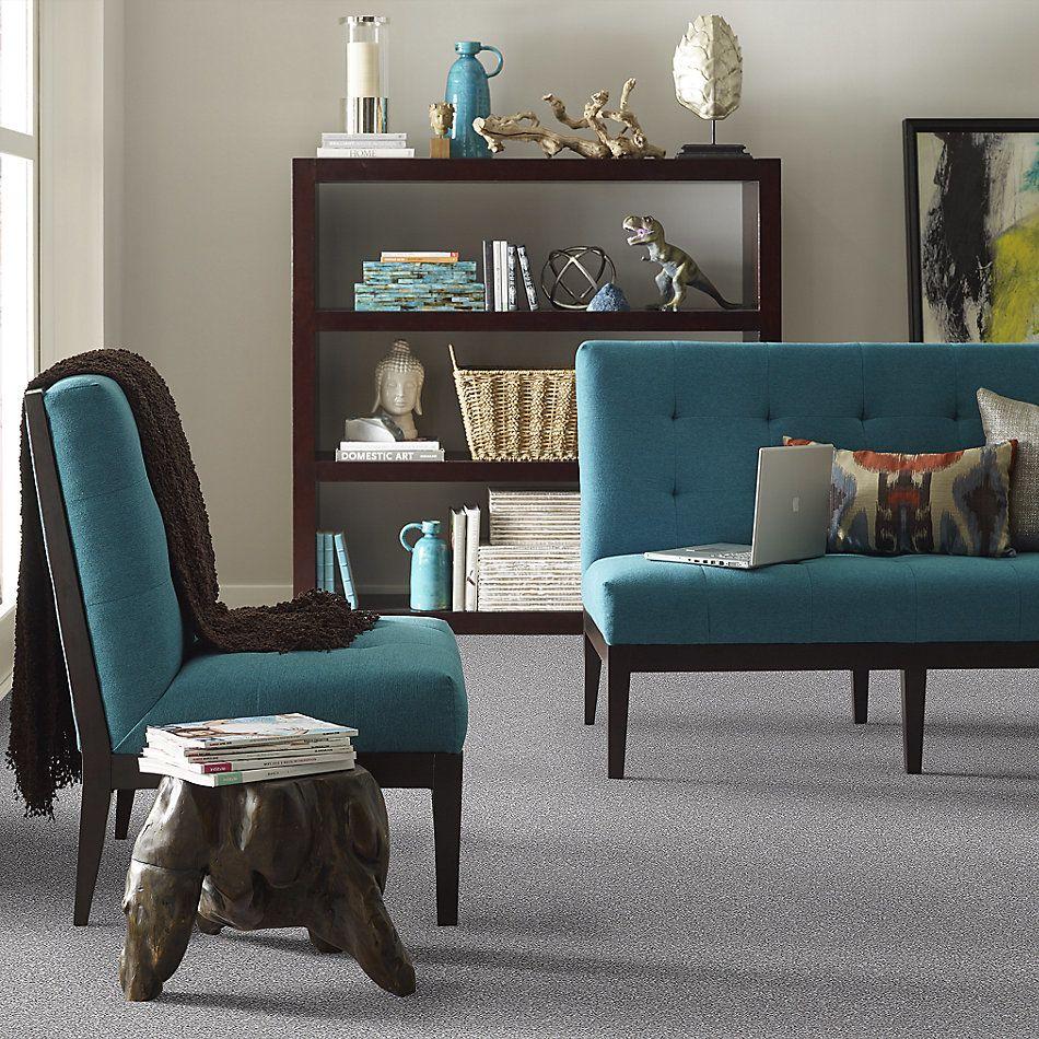 Shaw Floors Value Collections Make It Mine II Net Arctic Shadow 00521_5E332