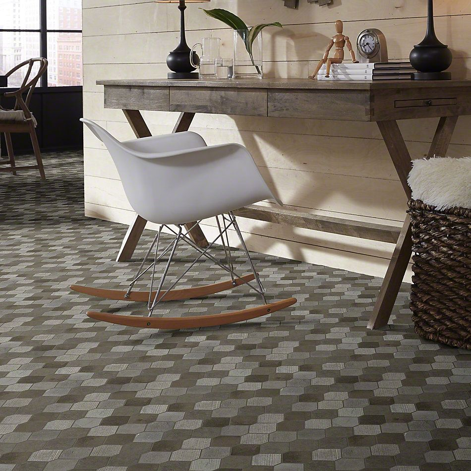 Shaw Floors Ceramic Solutions Boca Stretch Hex Foussana Gray 00530_CS26X
