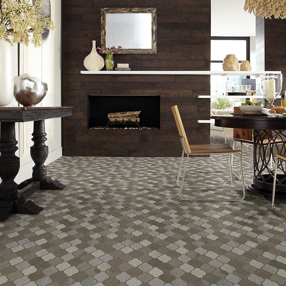 Shaw Floors Home Fn Gold Ceramic Del Ray Ornament Foussana Gray 00530_TG41C