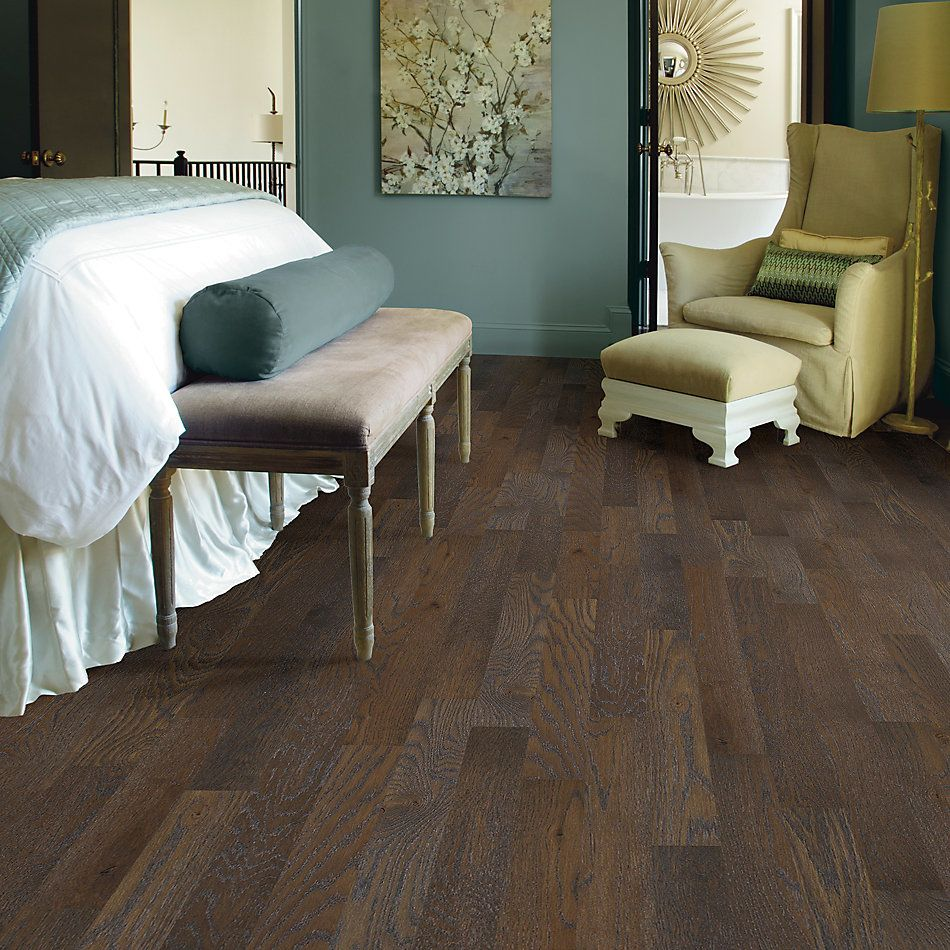 Shaw Floors Home Fn Gold Hardwood Crossville Cove Carbon 00541_HW518