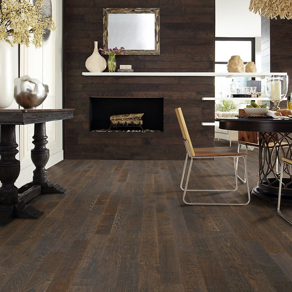 Shaw Floors Home Fn Gold Hardwood Valley View Carbon 00541_HW519