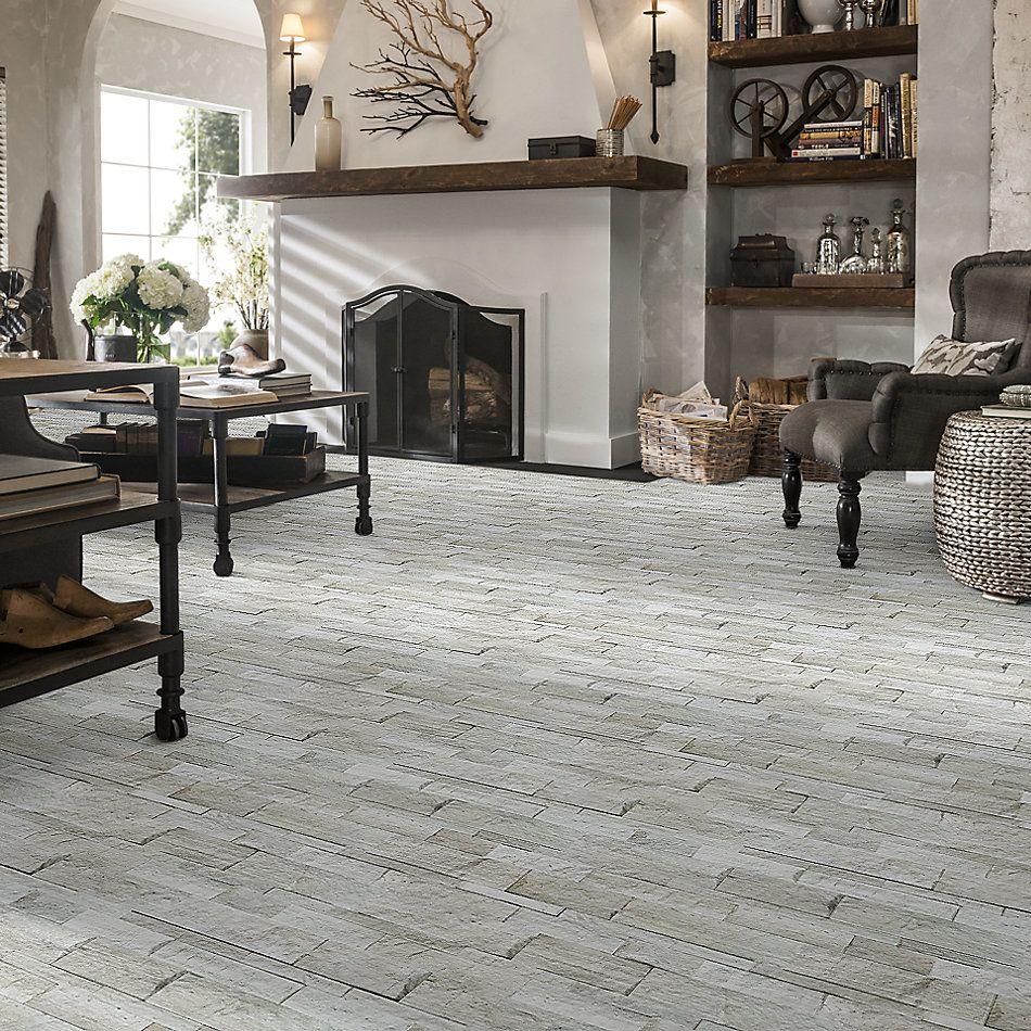 Shaw Floors Ceramic Solutions Firestone Split Face Strada Mist 00550_195TS