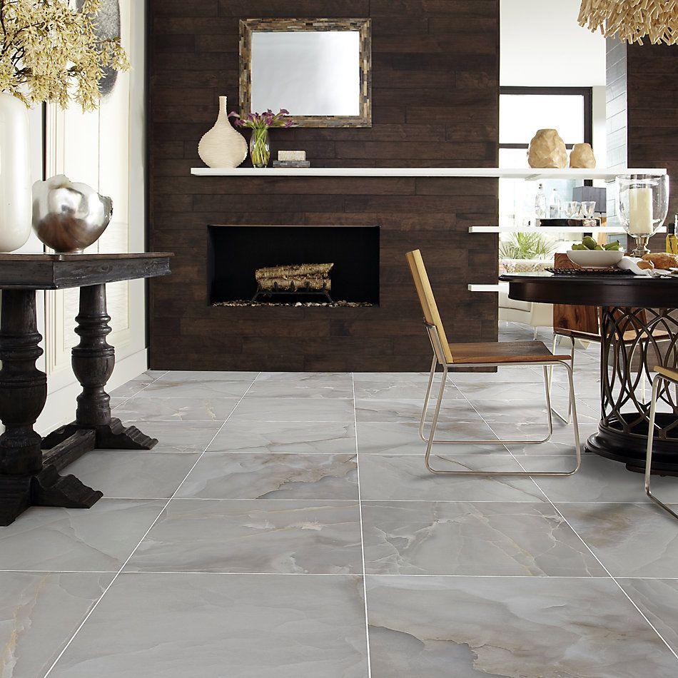 Shaw Floors Ceramic Solutions Gemstone 24×24 Polished Dark Grey 00550_336TS