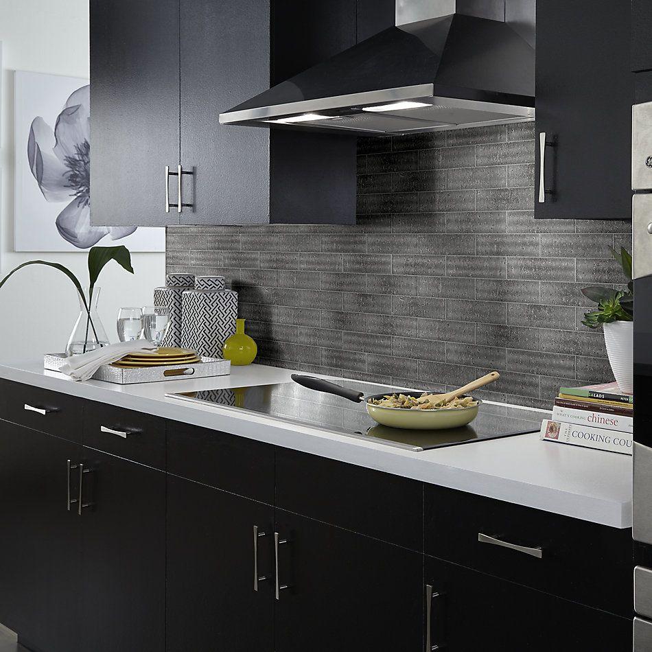 Shaw Floors Home Fn Gold Ceramic Geoscapes Brick Dark Grey 00550_TG53D