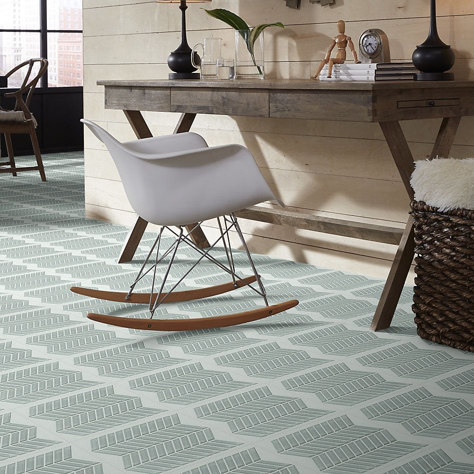 Shaw Floors Home Fn Gold Ceramic Principal Chevron Glass Mo Shadow 00550_TG78B