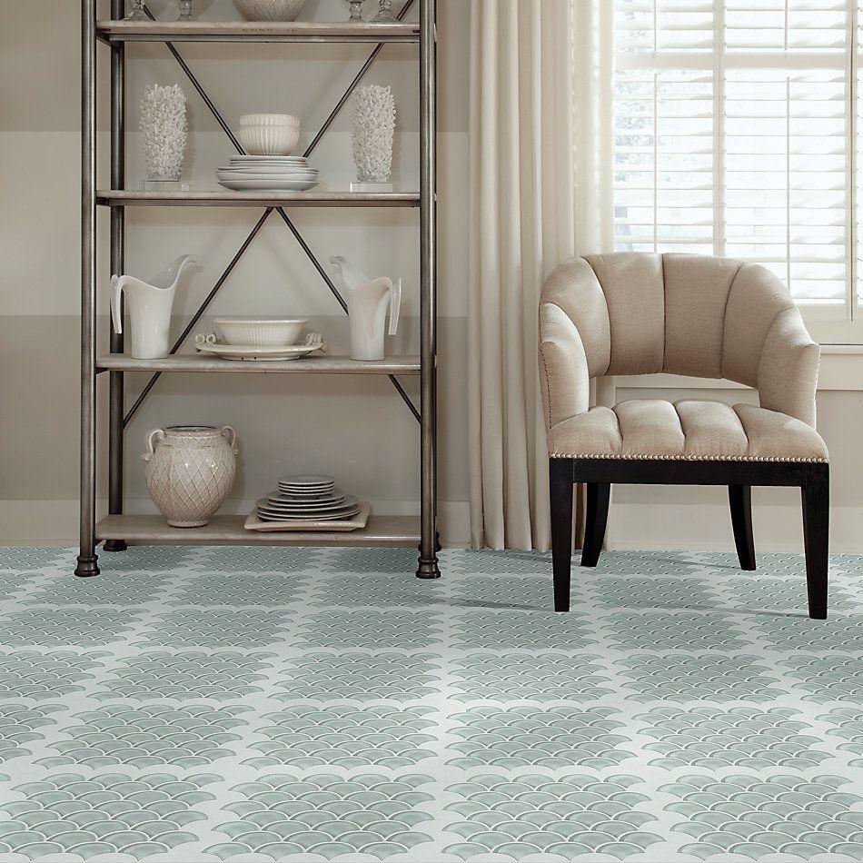 Shaw Floors Home Fn Gold Ceramic Principal Fan Glass Mosaic Shadow 00550_TG79B