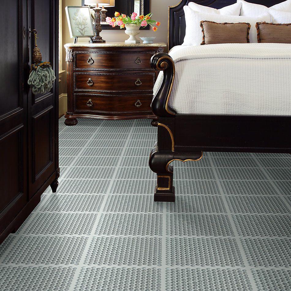 Shaw Floors Home Fn Gold Ceramic Principal Penny Round Glass Mo Shadow 00550_TG81B