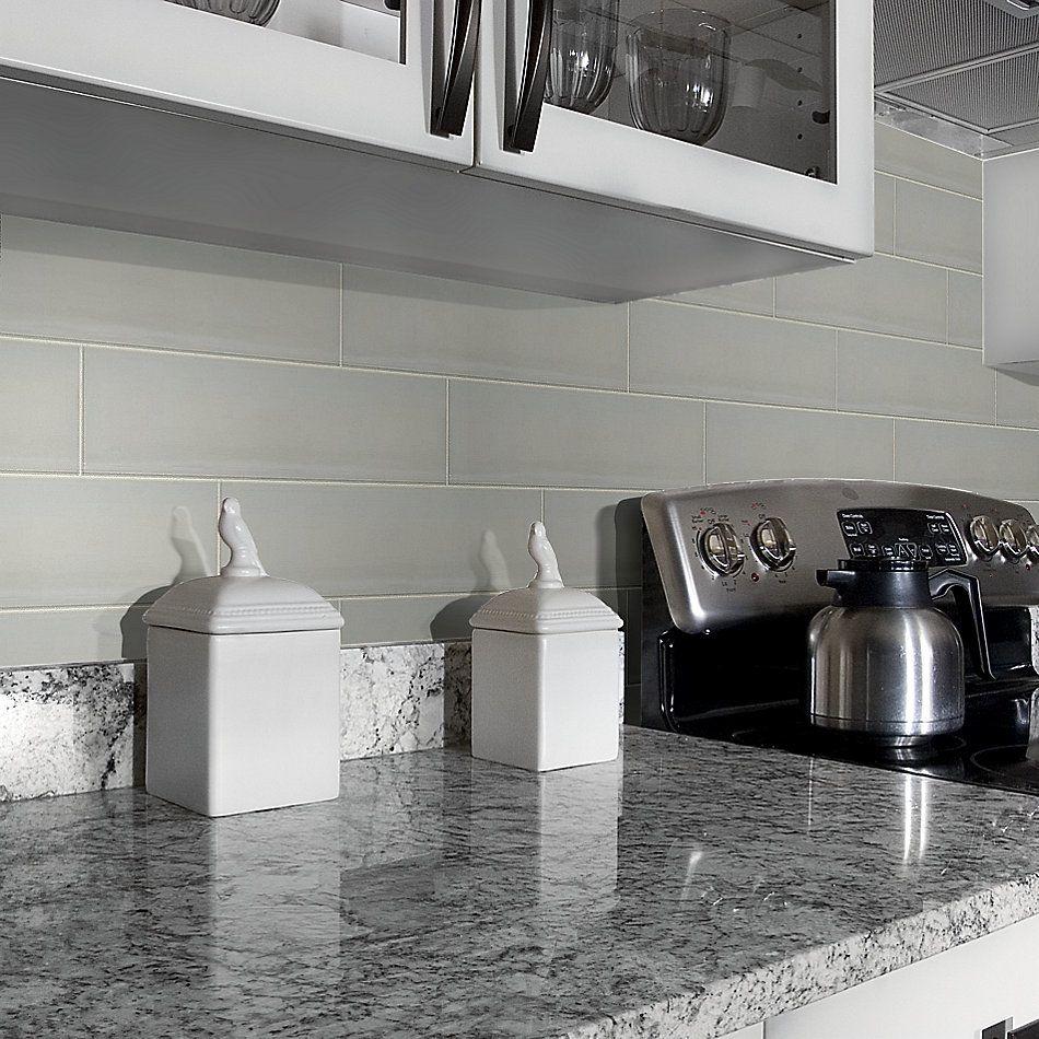Shaw Floors Home Fn Gold Ceramic Baker Street 4×16 Gloss Taupe 00550_TGL84