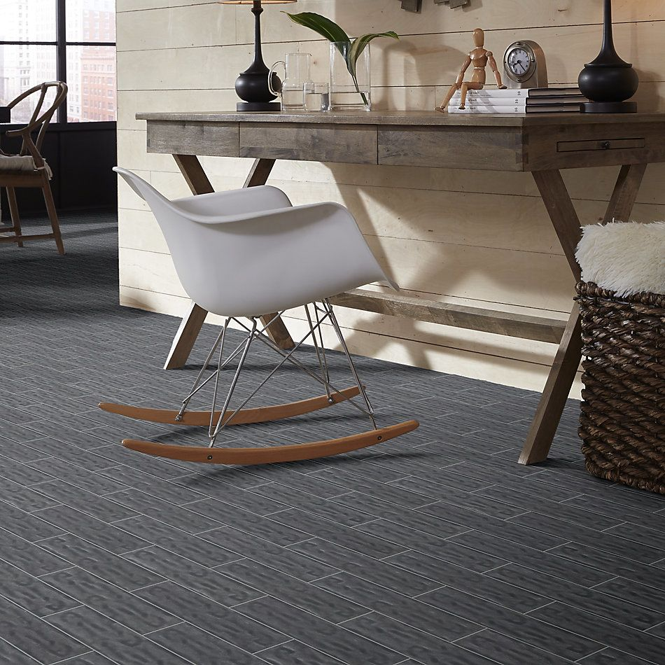 Shaw Floors Toll Brothers Ceramics Geoscapes 4×16 Dark Grey 00550_TL44C