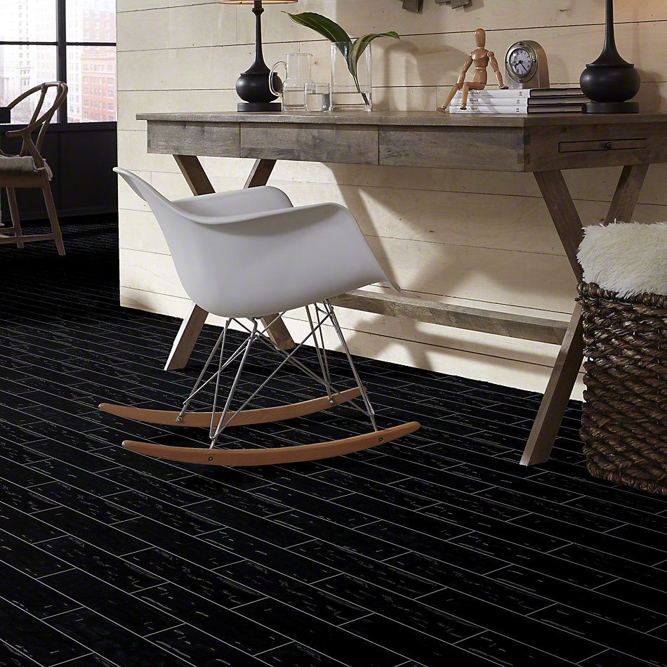Shaw Floors Ceramic Solutions Geoscapes 4×16 Black 00555_CS44X