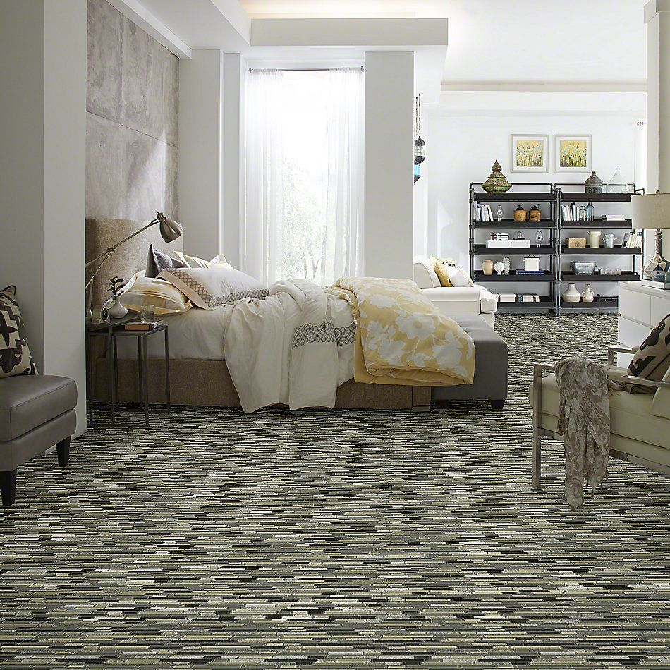 Shaw Floors SFA Marvelous Mix Linear Mosaic Silver Aspen 00555_SA987