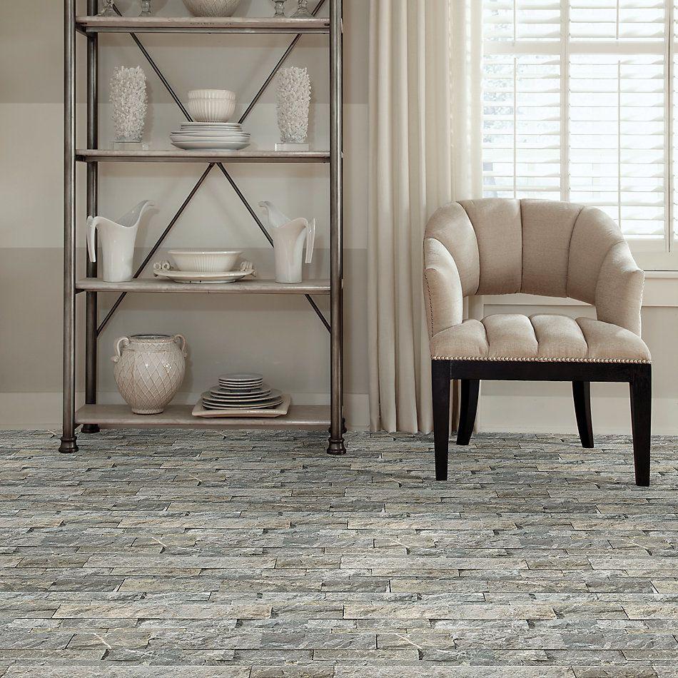 Shaw Floors Home Fn Gold Ceramic Firestone Split Face Stark Carbon 00555_TG55D