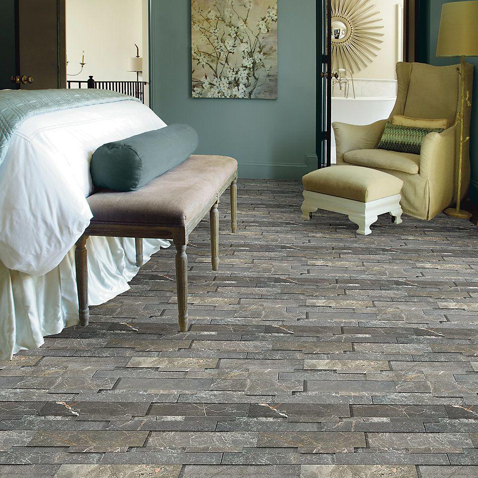 Shaw Floors Home Fn Gold Ceramic Milestone Stark Carbon 00555_TG56D