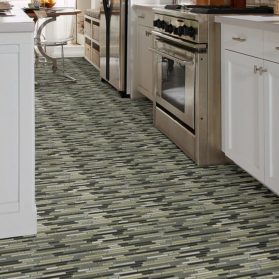Shaw Floors Home Fn Gold Ceramic Awesome Mix Random Linear Mosi Silver Aspen 00555_TG63B