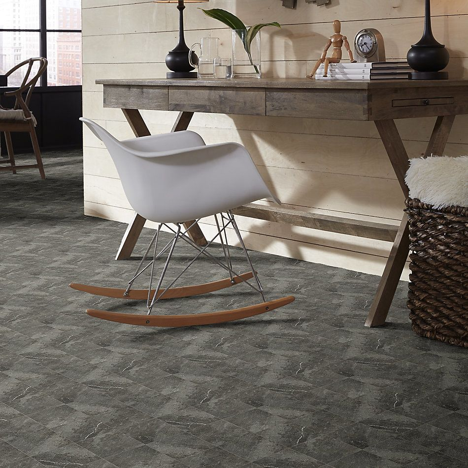 Shaw Floors Ceramic Solutions Oasis 13 Dark Grey 00570_CS70Q