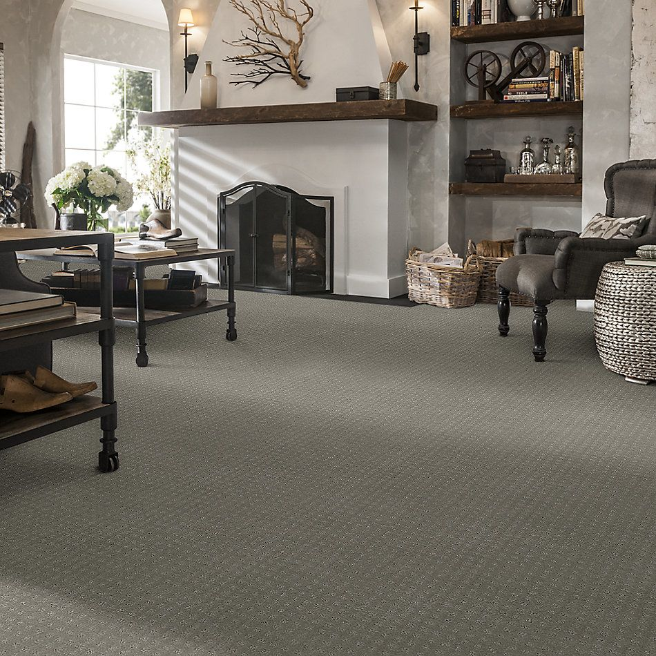 Shaw Floors Foundations Alluring Disposition Net Slate 00570_E9777