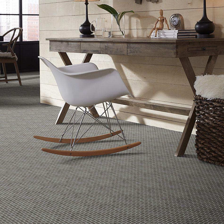 Shaw Floors Home Fn Gold Ceramic Estate Mini Brick Mosaic Urban Grey 00570_TGN90