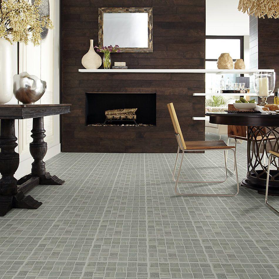 Shaw Floors Ceramic Solutions Basis Basketweave Mosaic Carbon 00590_CS22W