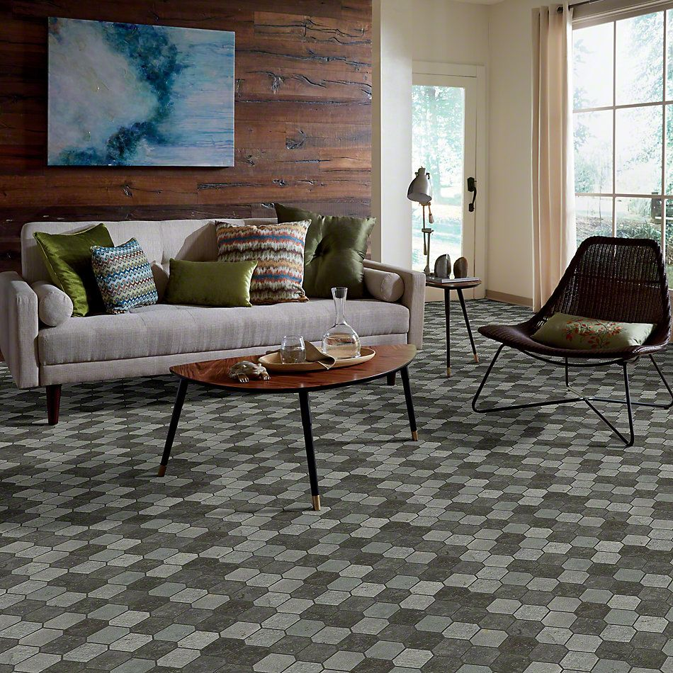 Shaw Floors Ceramic Solutions Boca Stretch Hex Milly Gray 00590_CS26X
