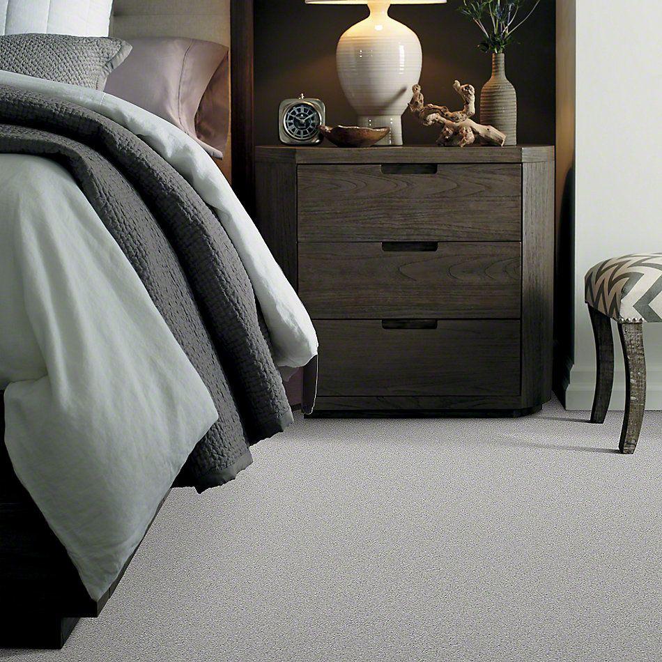 Shaw Floors Anso Colorwall Platinum Texture Tonal Glacier Caves 00590_EA579