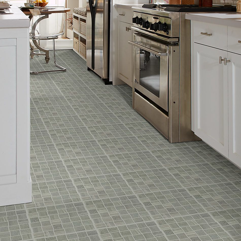 Shaw Floors SFA Origin Basketweave Mosaic Carbon 00590_SA935