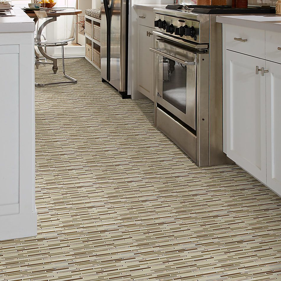 Shaw Floors Ceramic Solutions Molten Linear Glass Penny 00600_CS53V