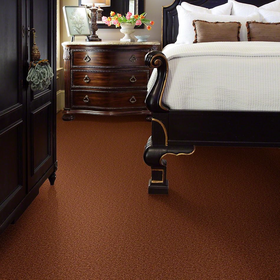 Shaw Floors Queen Sandy Hollow II 12′ Dark Amber 00602_Q4275