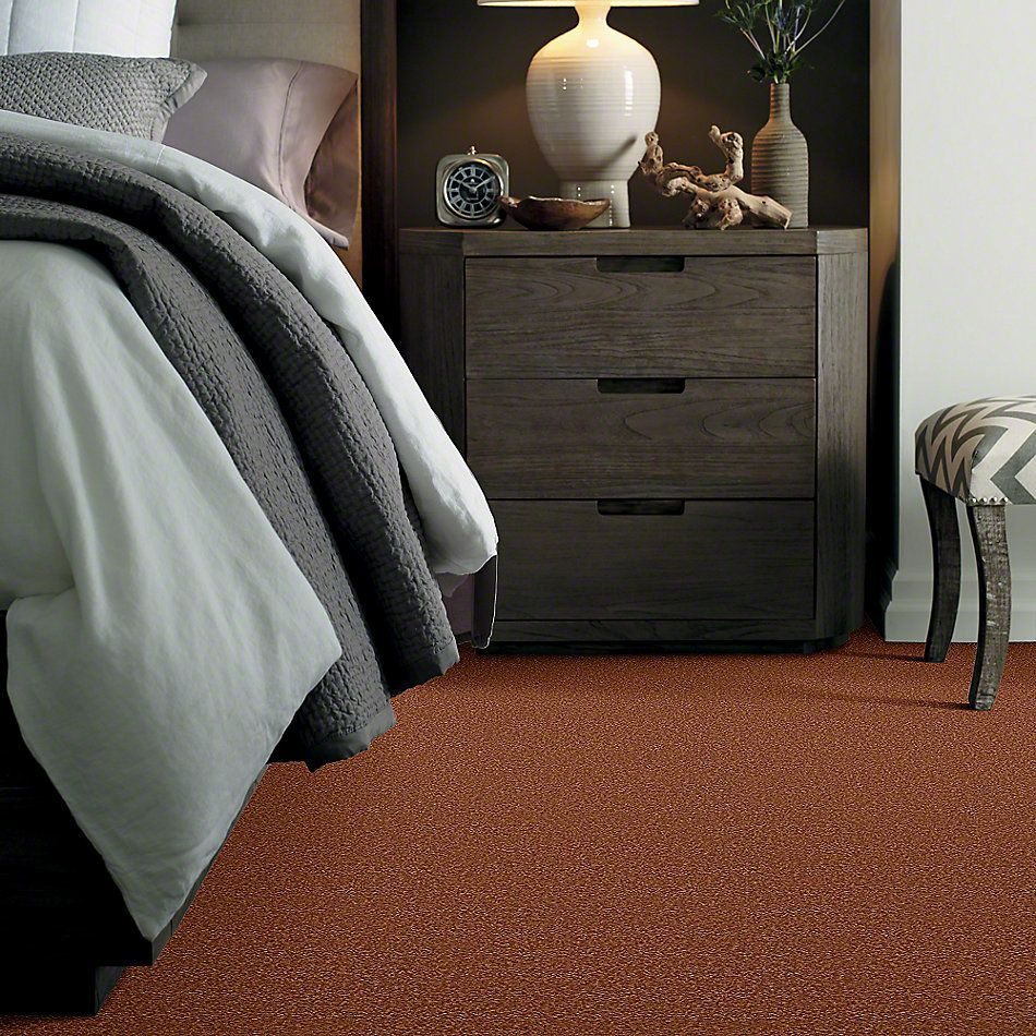 Shaw Floors Sandy Hollow III 12′ Dark Amber 00602_Q4277