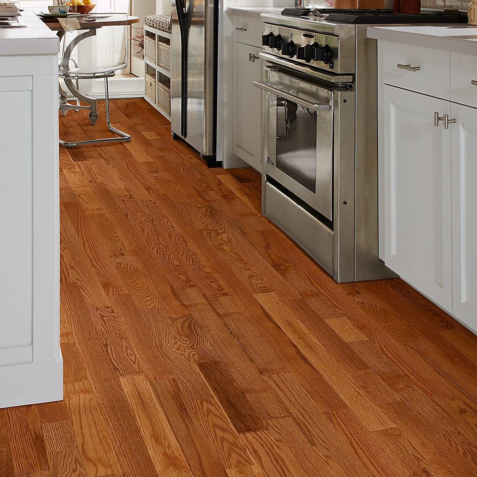 Shaw Floors Home Fn Gold Hardwood Family Reunion 2.25 Butterscotch 00602_HW424