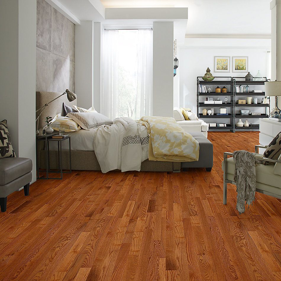 Shaw Floors Home Fn Gold Hardwood Family Reunion 3.25 Butterscotch 00602_HW425