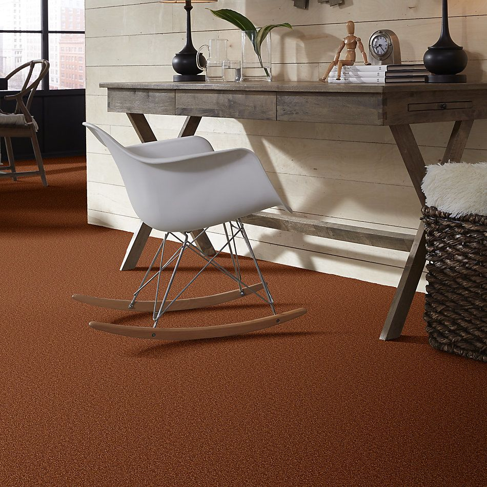 Shaw Floors Shaw Floor Studio Bright Spirit II 12′ Dark Amber 00602_Q4650