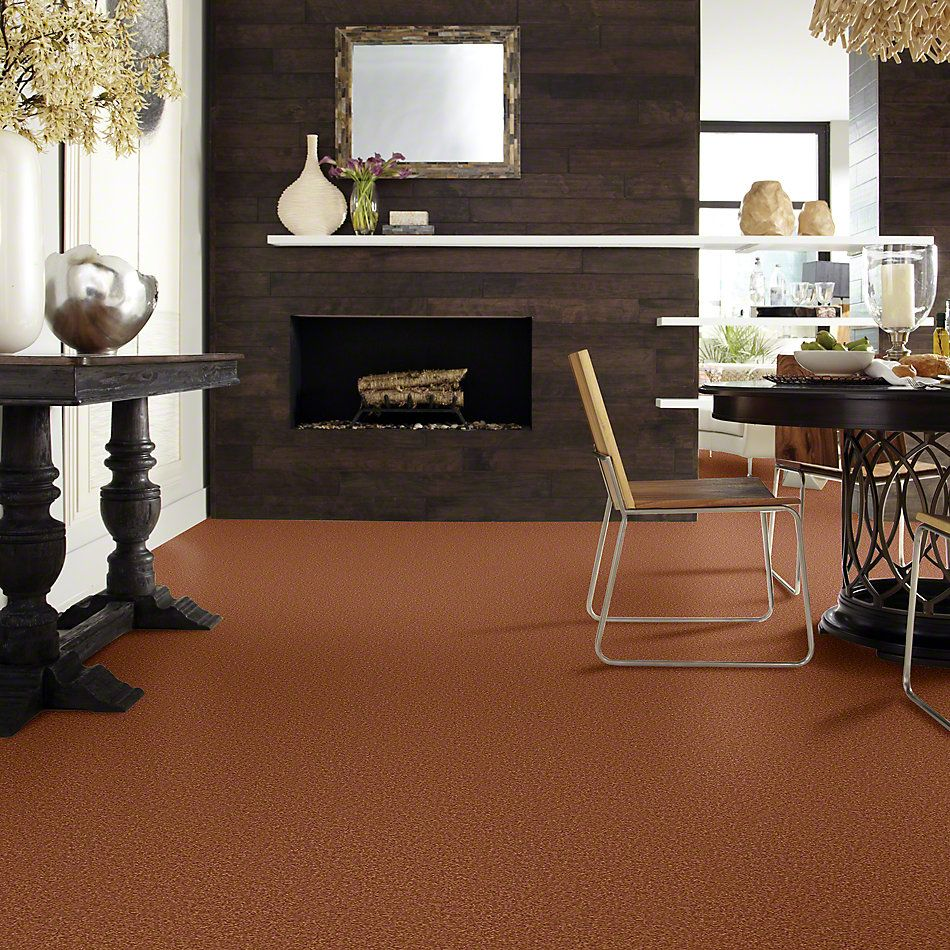 Shaw Floors Shaw Design Center Sweet Valley III 12′ Dark Amber 00602_QC424