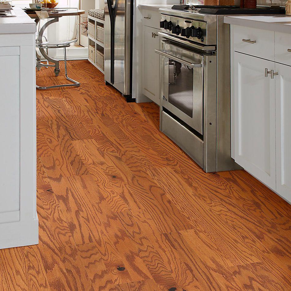 Shaw Floors Home Fn Gold Hardwood Rosebrooke Oak Gunstock 00609_HW515