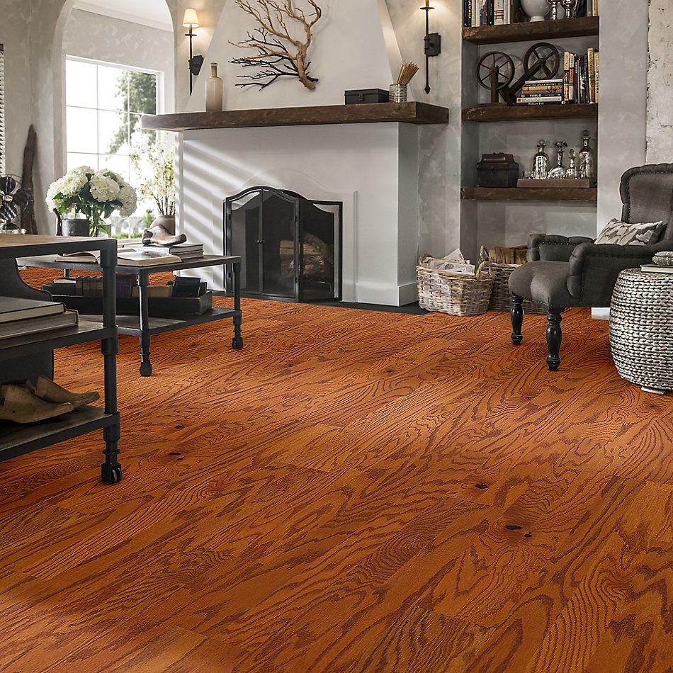 Shaw Floors Shaw Hardwoods Gazebo Oak Gunstock 00609_SW515