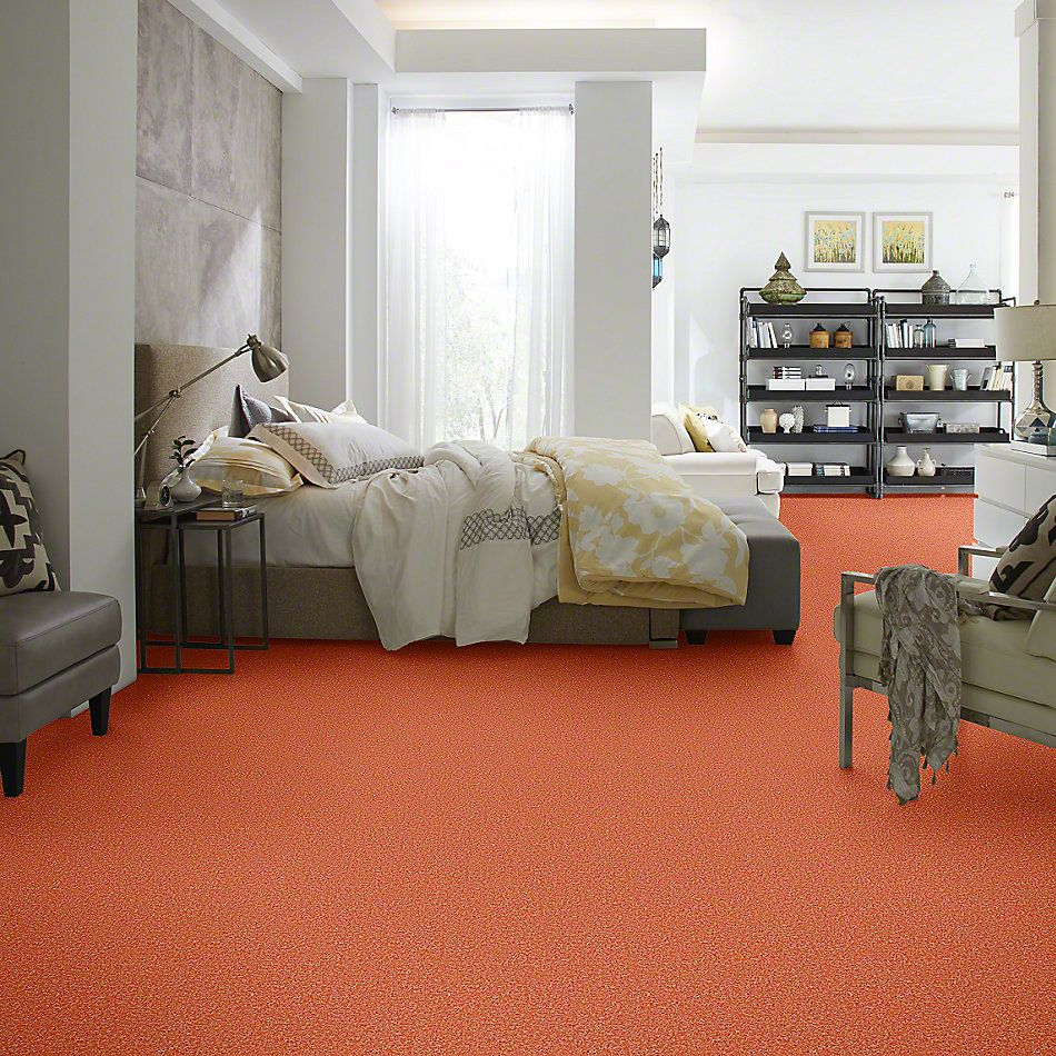 Shaw Floors Shaw Design Center Kid Crazy Tangerine Twist 00630_5C654