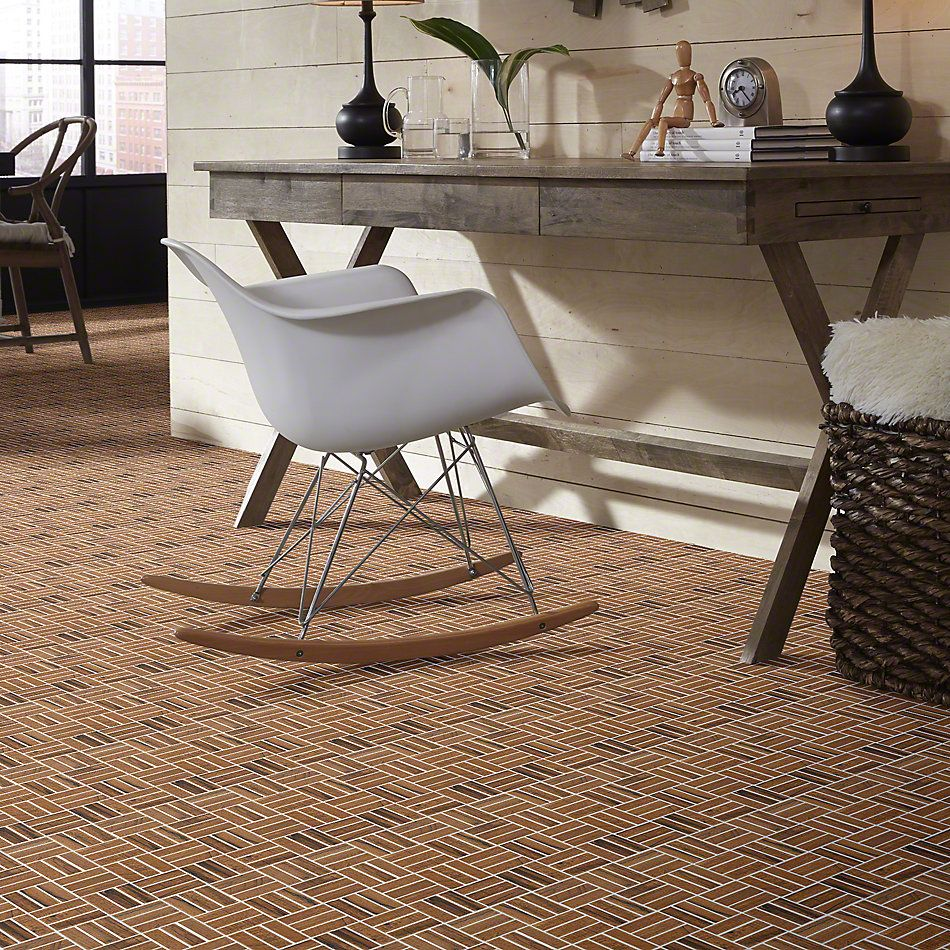 Shaw Floors Ceramic Solutions Fired Hck Mosaic Nutmeg 00670_CS57Q